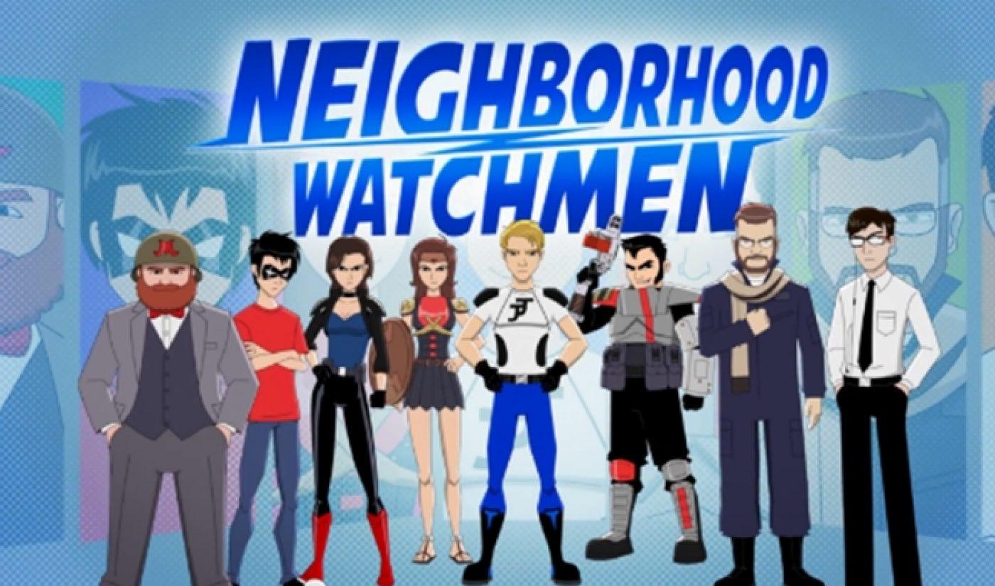Indie Spotlight: 'Neighborhood Watchmen' Puts Heroes In 'The Office'