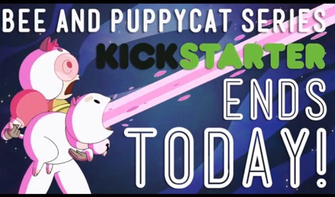 'Bee And Puppycat' Raises $872,133, Breaks Kickstarter Record