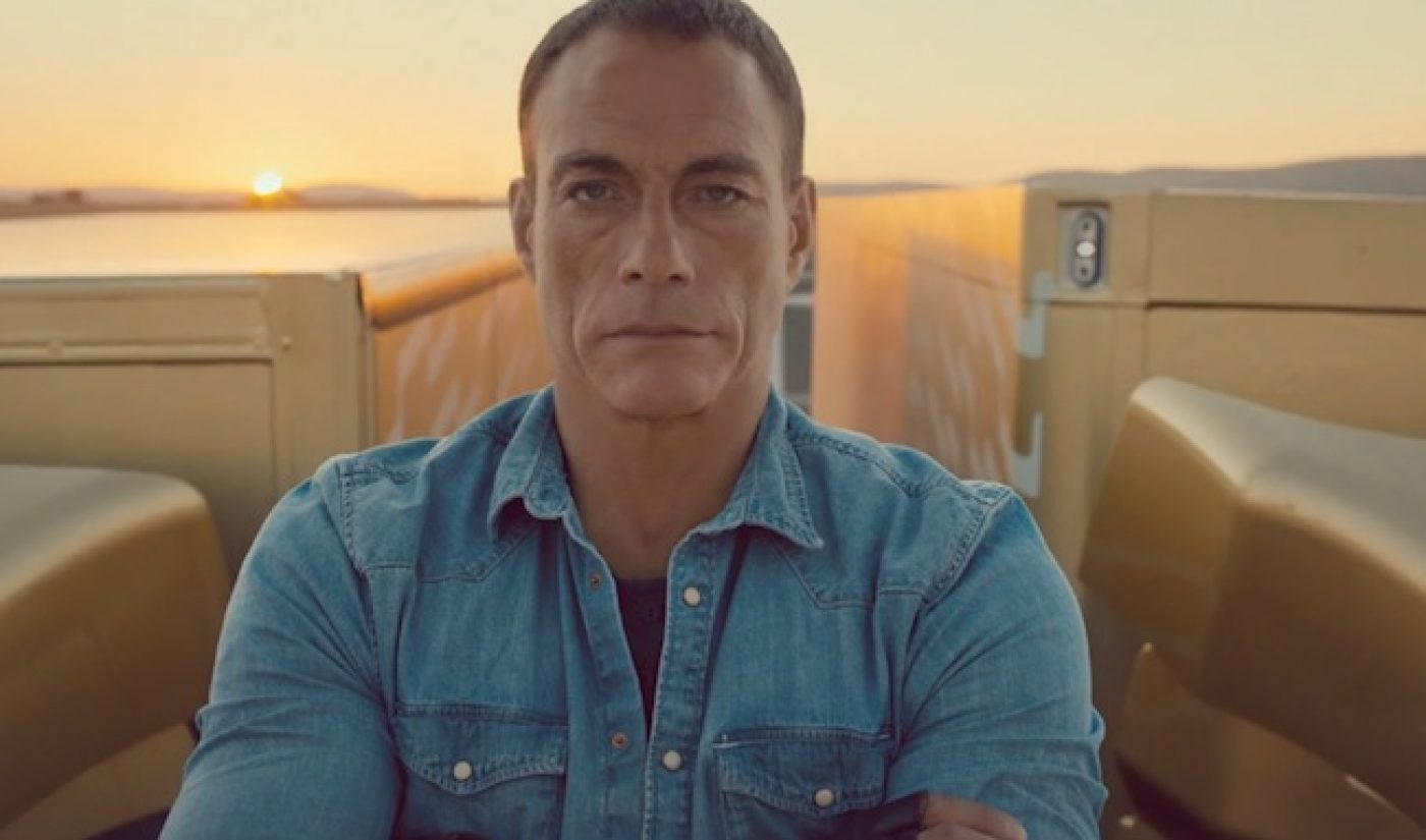 """Jean-Claude Van Damme Masters """"The Most Epic Of Splits"""" For Volvo"""