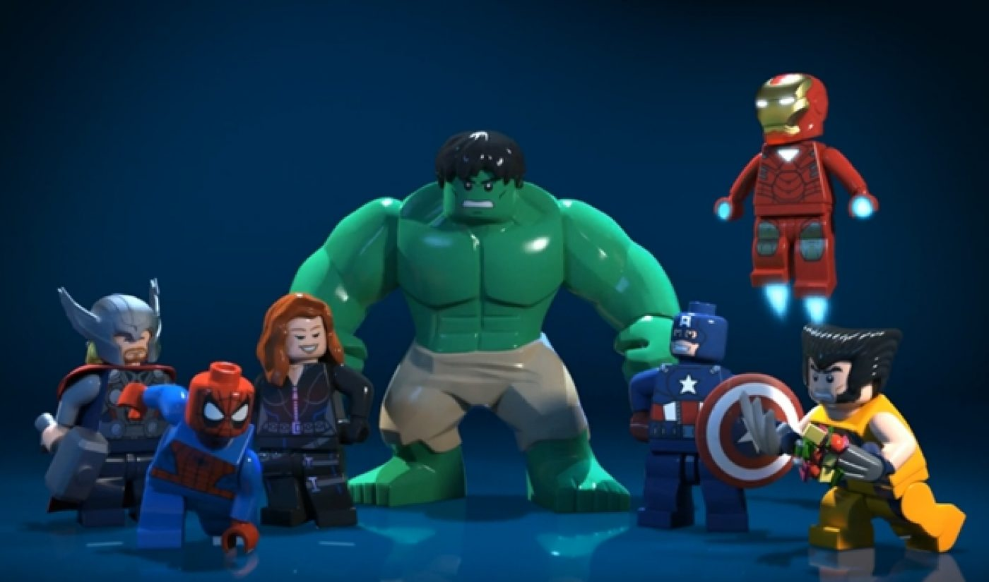 The Marvel Superheroes Come To Disney.com…In Lego Form