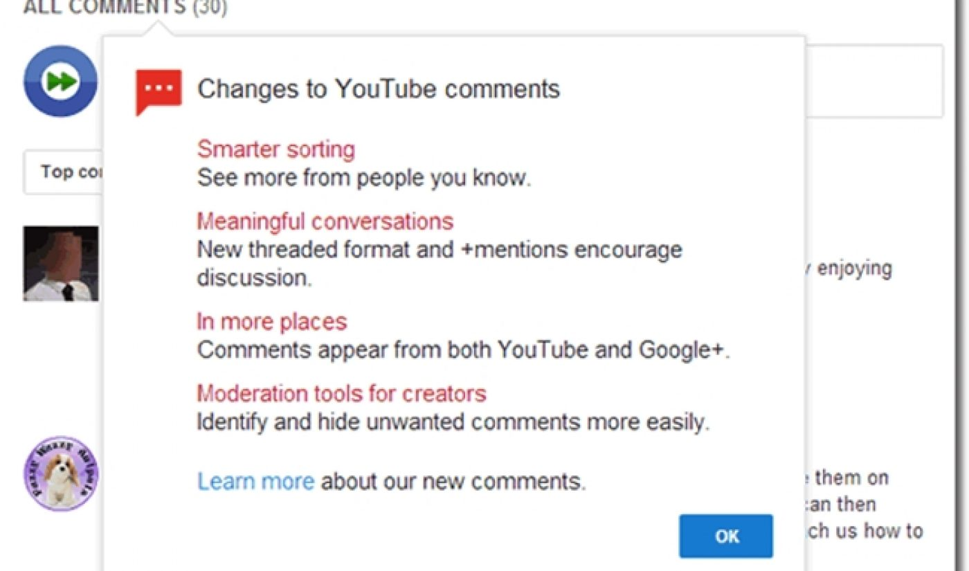 Creators, 88,000 Users Speak Out Against New YouTube Comments