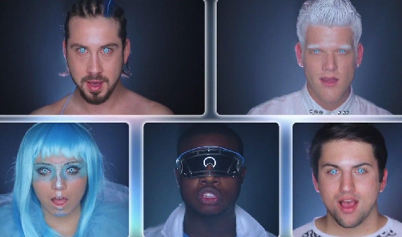 Pentatonix Celebrates Album Release With Amazing Daft Punk Medley