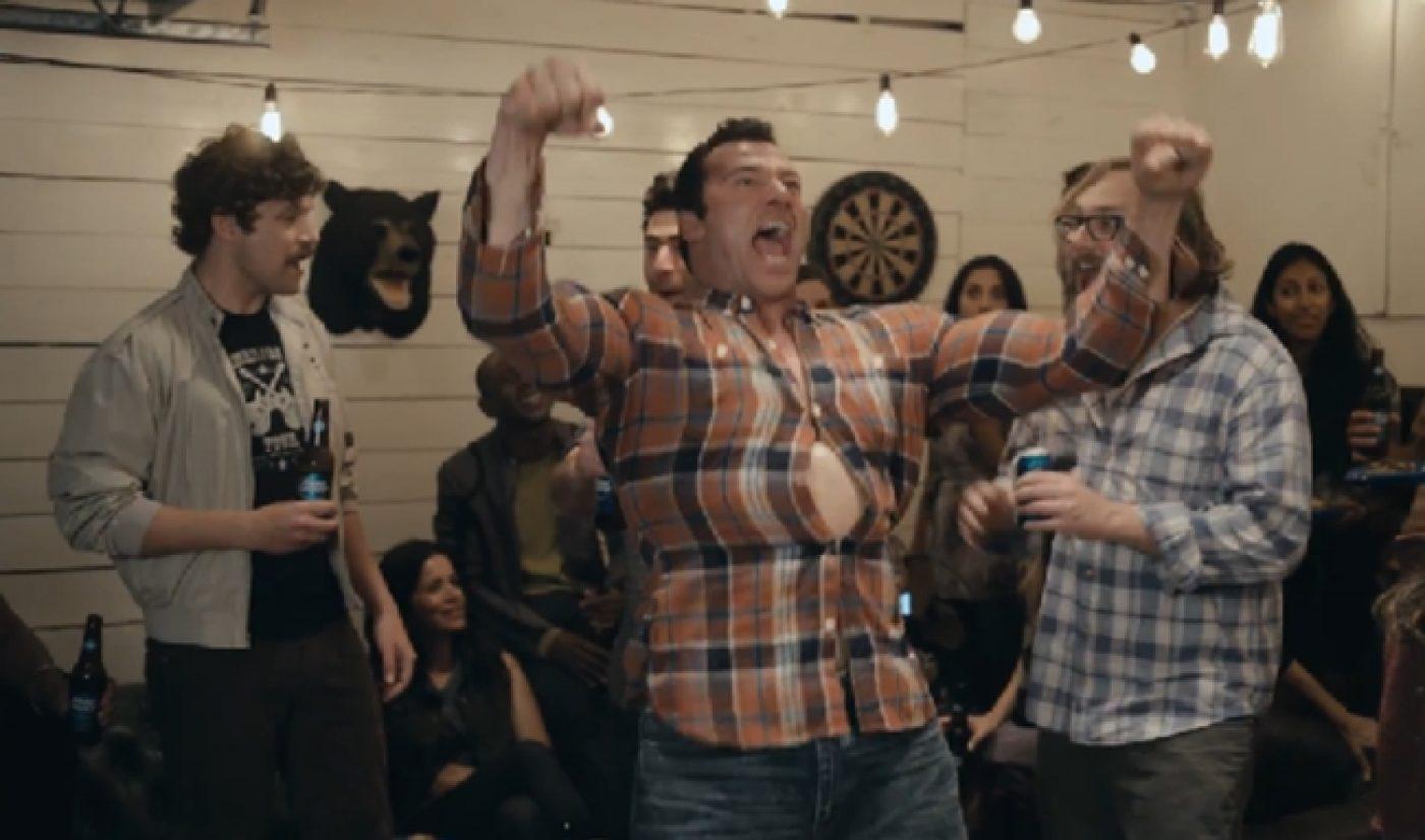 John Krasinski Instructs Bud Light Drinkers To 'Hold My Beer'