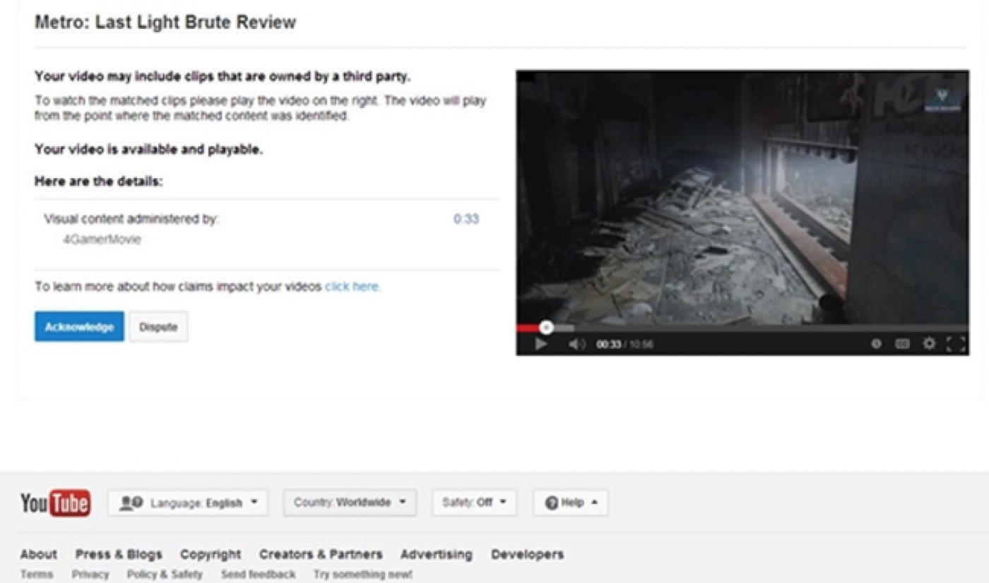 YouTube Is Suddenly Flagging A LOT Of Videos For Copyright Claims