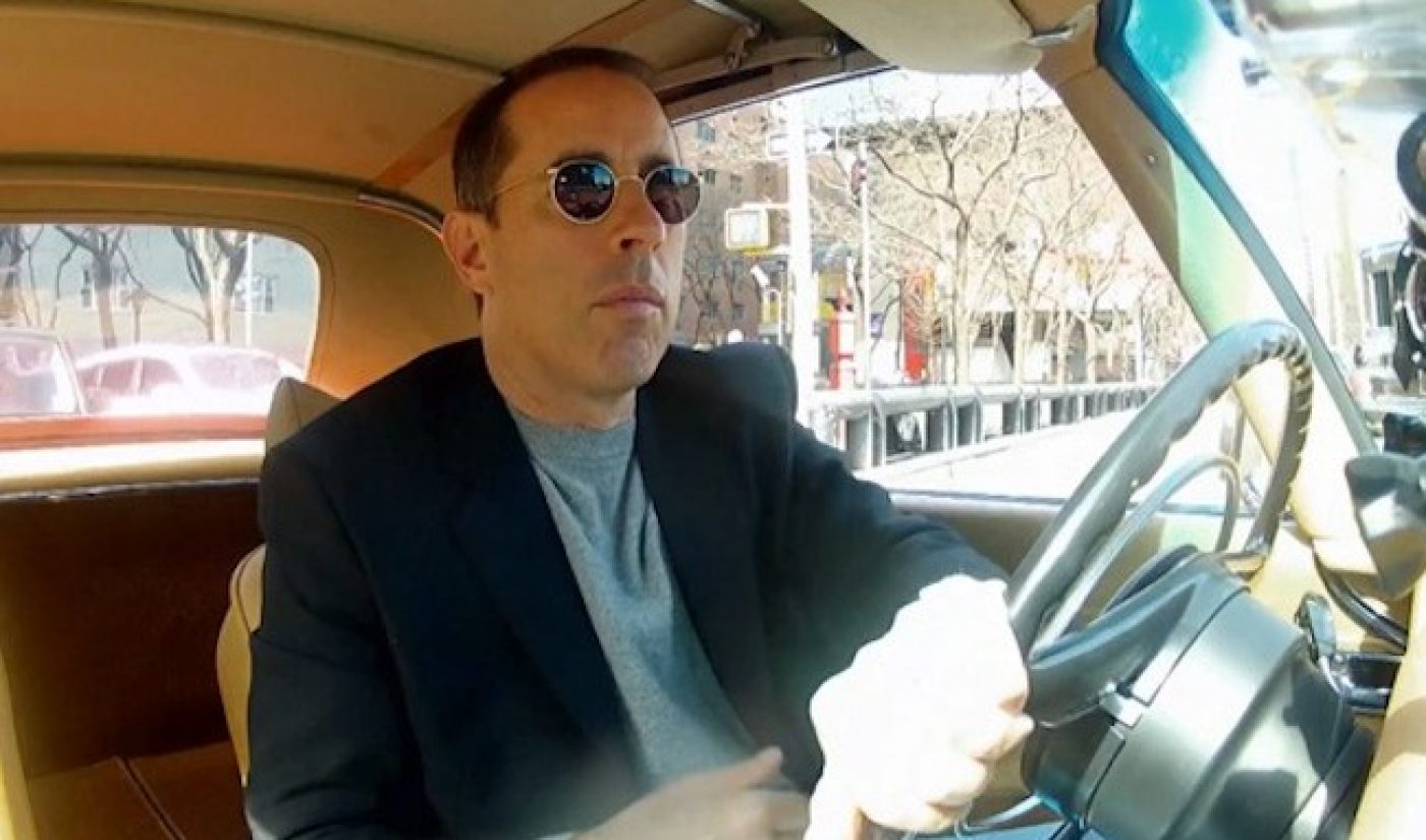 Jerry Seinfeld's 'Comedians In Cars' Boasts 25 Million Views