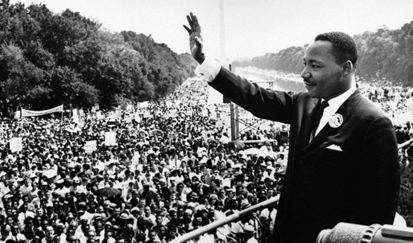 Here's A Dr. Martin Luther King, Jr. Day Playlist Courtesy Of YouTube