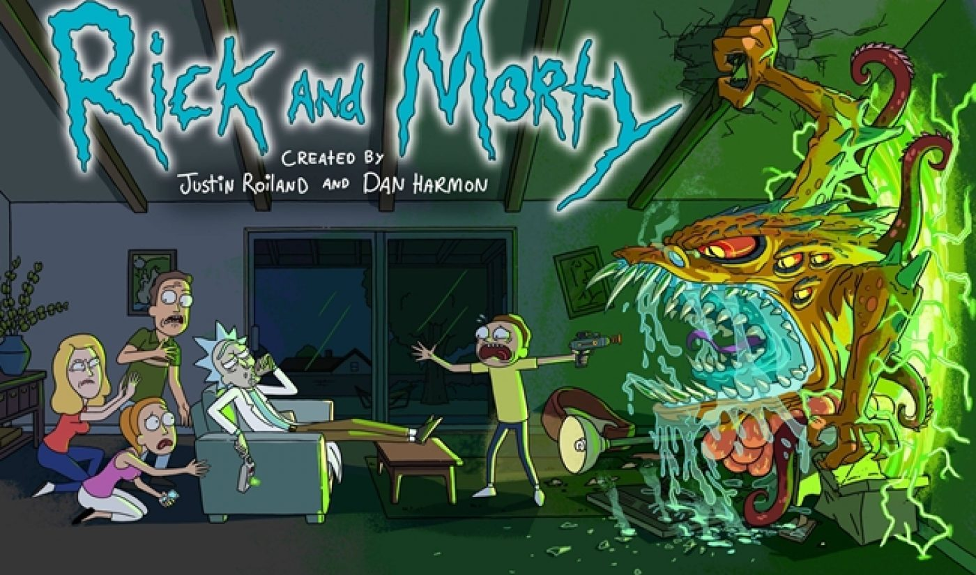 Adult Swim Strikes YouTube Gold Through 'Rick And Morty'