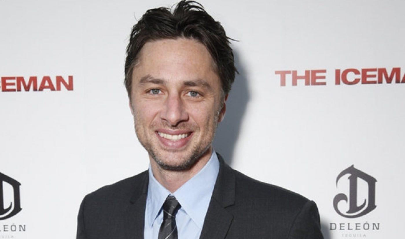 Zach Braff's 'Wish I Was Here' Gets Distribution Deal At Sundance