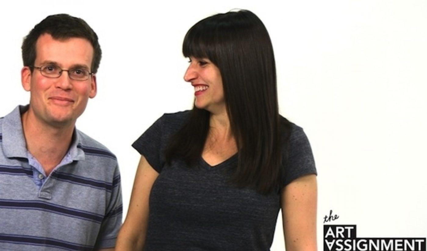 PBS Digital Studios, Sarah & John Green Give Viewers An Art Assignment