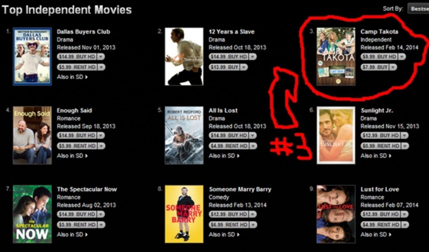 'Camp Takota' Hangs With Oscar Nominees On iTunes Bestseller Chart