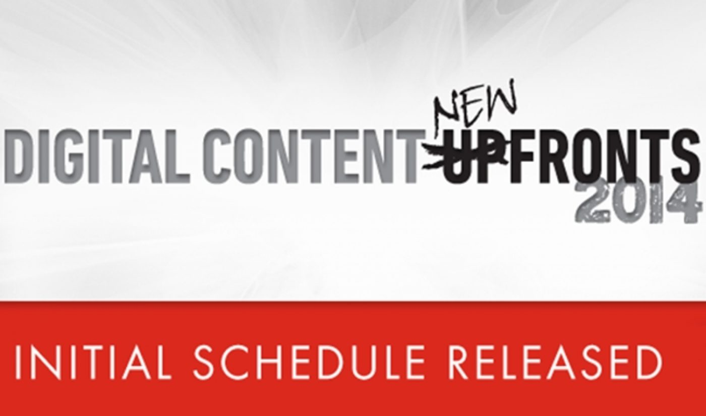 [UPDATE] IAB Announces Schedule For Digital Content Newfronts 2014