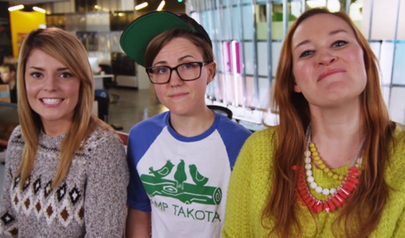 Grace Helbig, Hannah Hart, And Mamrie Hart Take Over 'YouTube Nation'