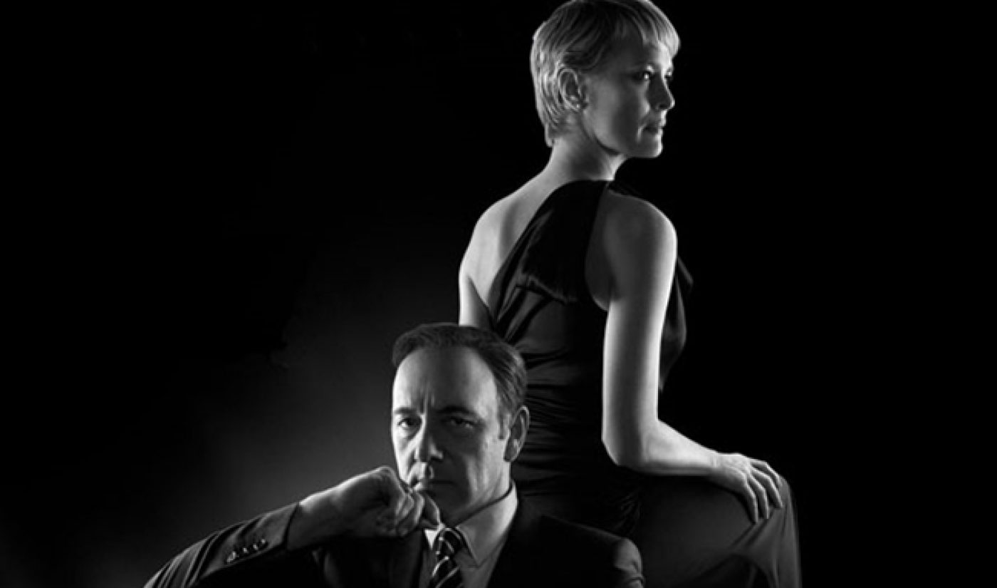Netflix's 'House Of Cards' Return Ate Up A Huge Amount Of Bandwidth