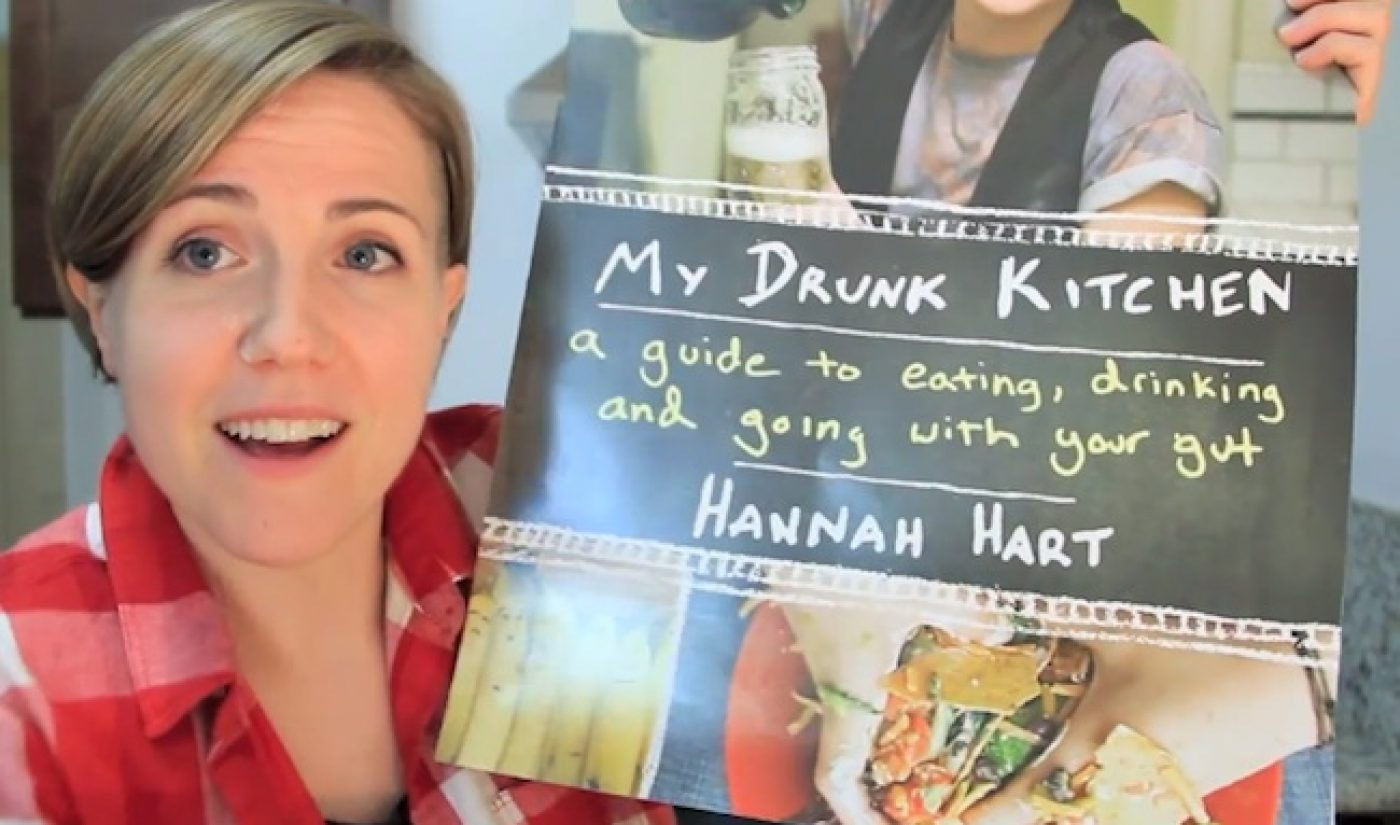 Hannah Hart's 'My Drunk Kitchen' Book Is Now On Sale