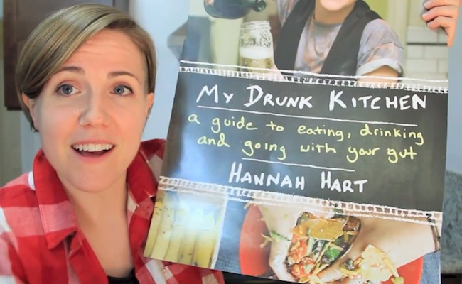 Hannah Hart\'s \'My Drunk Kitchen Book\' Is Now On Sale