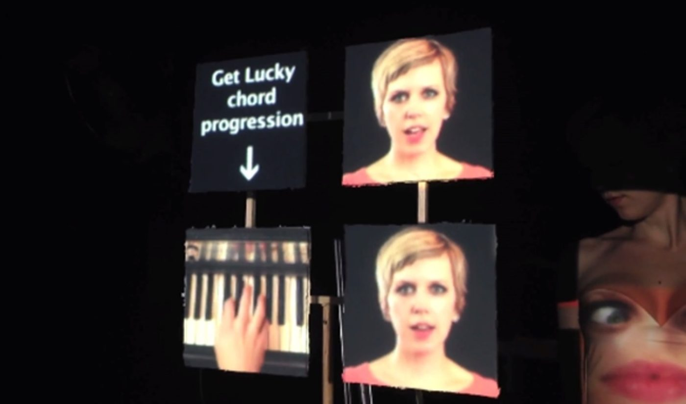 Pomplamoose Shot A Really Cool Pharrell Mashup Video In One Take