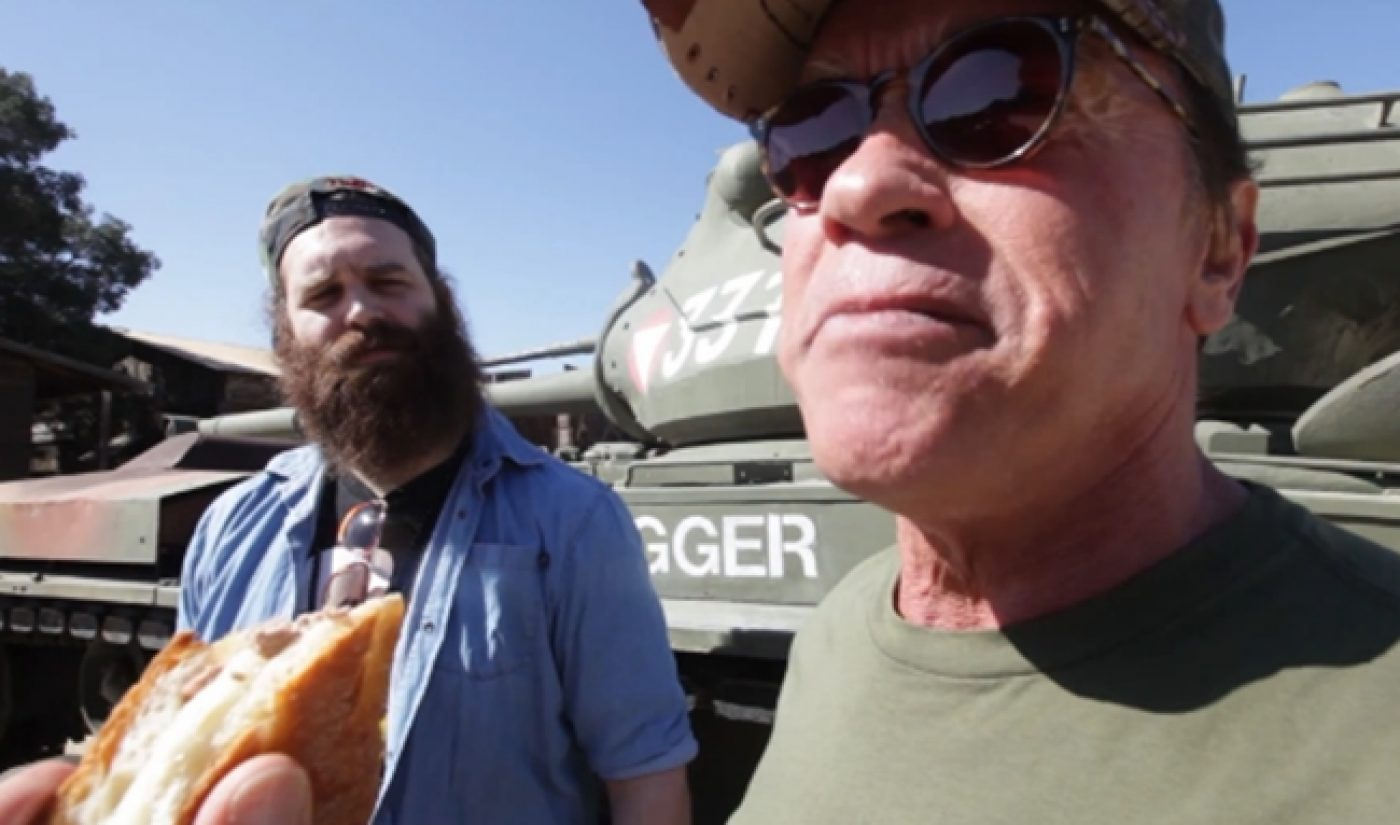 'Epic Meal Time' And Arnold Schwarzenegger Team Up For The Kids