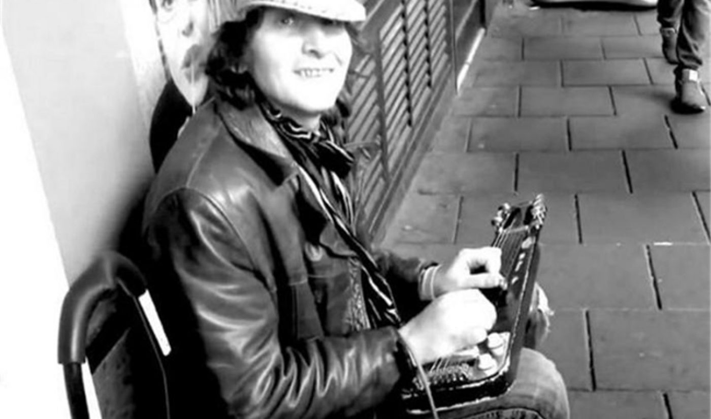 With Help From YouTube, A Busker Shares His Songs Online