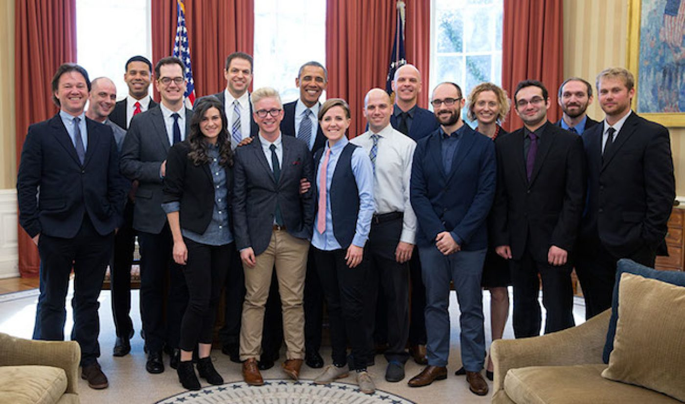 Obama Meets With YouTube Advisors On How To Reach Online Audiences