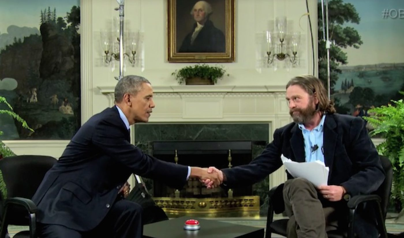 Obama, Galifianakis, Funny Or Die Now Top Referrers To Healthcare.gov