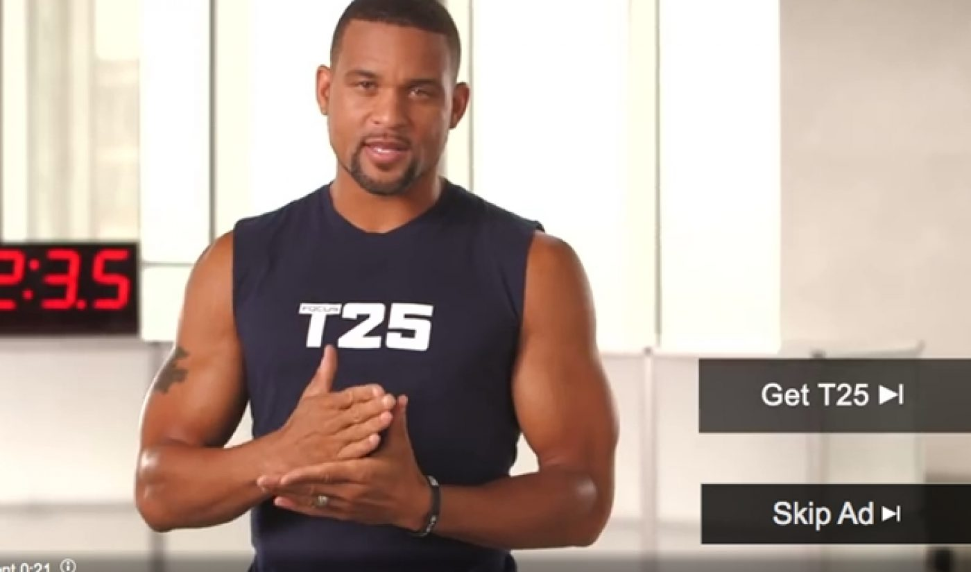Is Home Fitness Company Beachbody Gaming YouTube's Skippable Pre-Roll Ads?