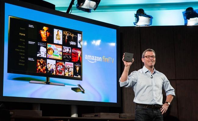 Amazon's New Fire TV Box Features Netflix, Hulu, YouTube