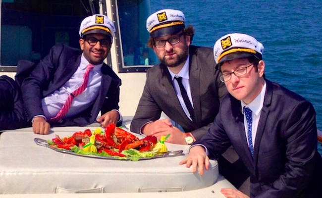 Aziz Ansari And Eric Wareheim's 'Food Club' Is On A Boat