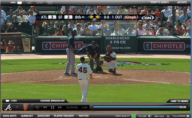 The MLB's Media Player Is Streaming A Lot More Than Baseball Games