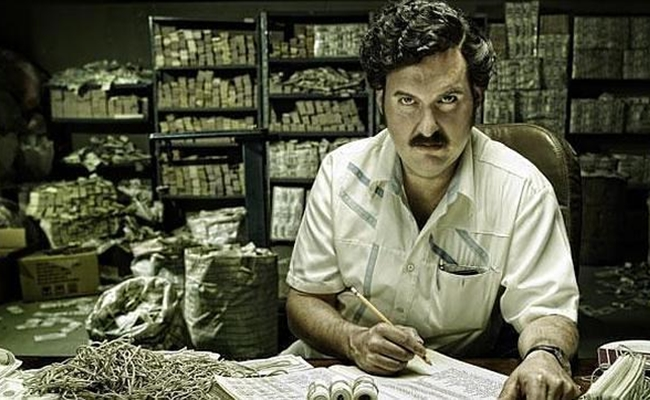 netflix greenlights narcos a series about drug lord pablo escobar