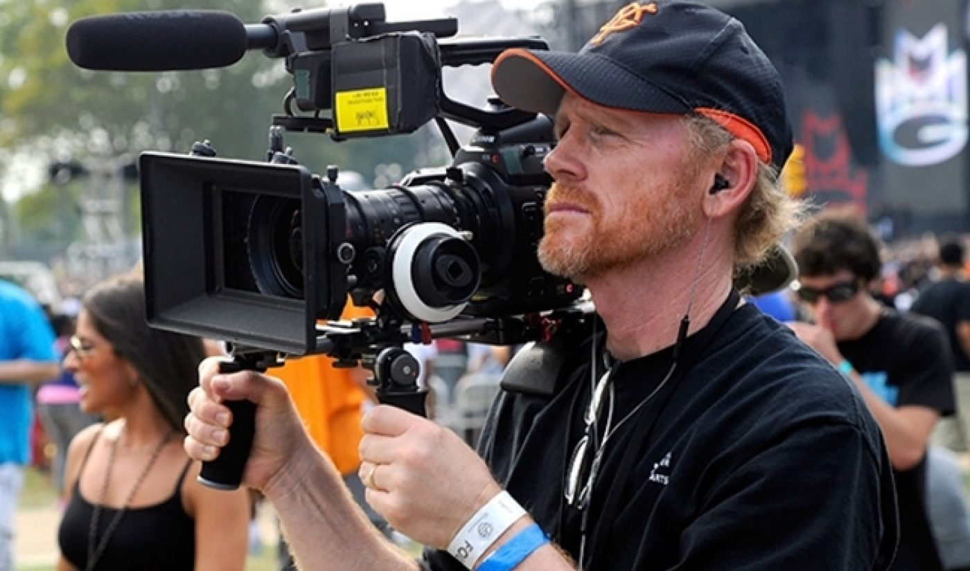Ron Howard, Discovery Team Up For New Form Digital Studio