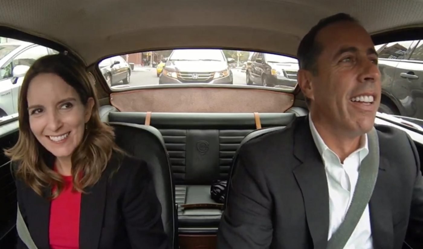 Crackle Renews Seinfeld's 'Comedians In Cars Getting Coffee' Into 2016