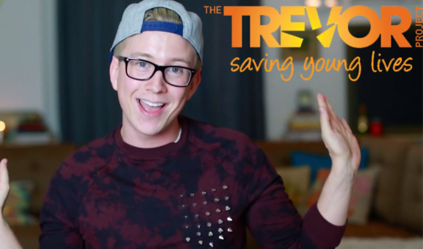 Tyler Oakley's Prizeo Campaign For The Trevor Project Tops Out At $525,679