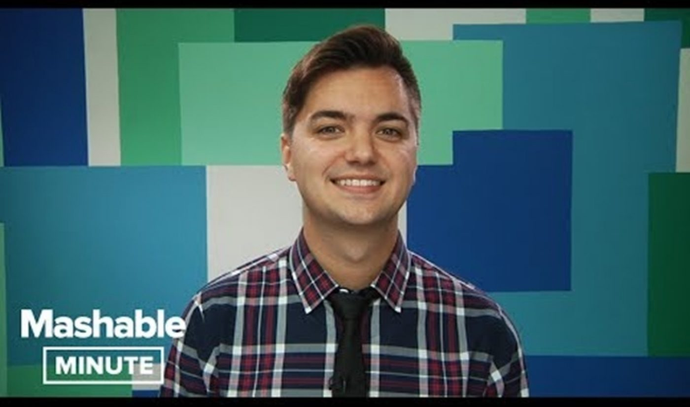 """""""Take A Minute"""" To Watch Elliott Morgan's New Show With Mashable"""