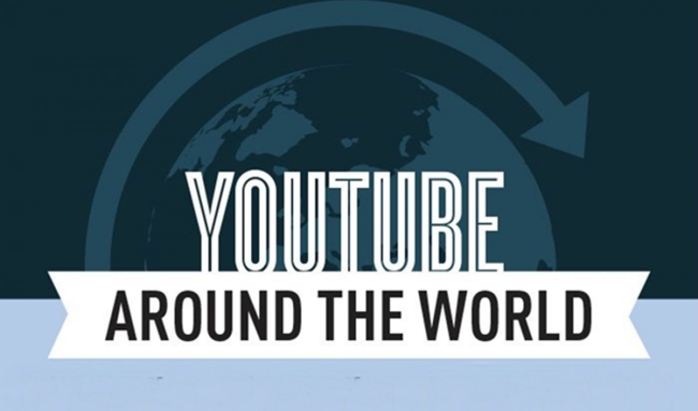 Guess Which Country Has The Most Avid YouTube Viewers [INFOGRAPHIC]