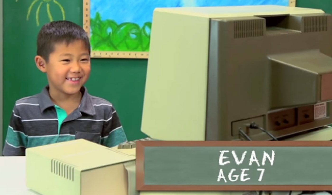 The Fine Bros Use Kids React To Promote AMC Show About Old Computers