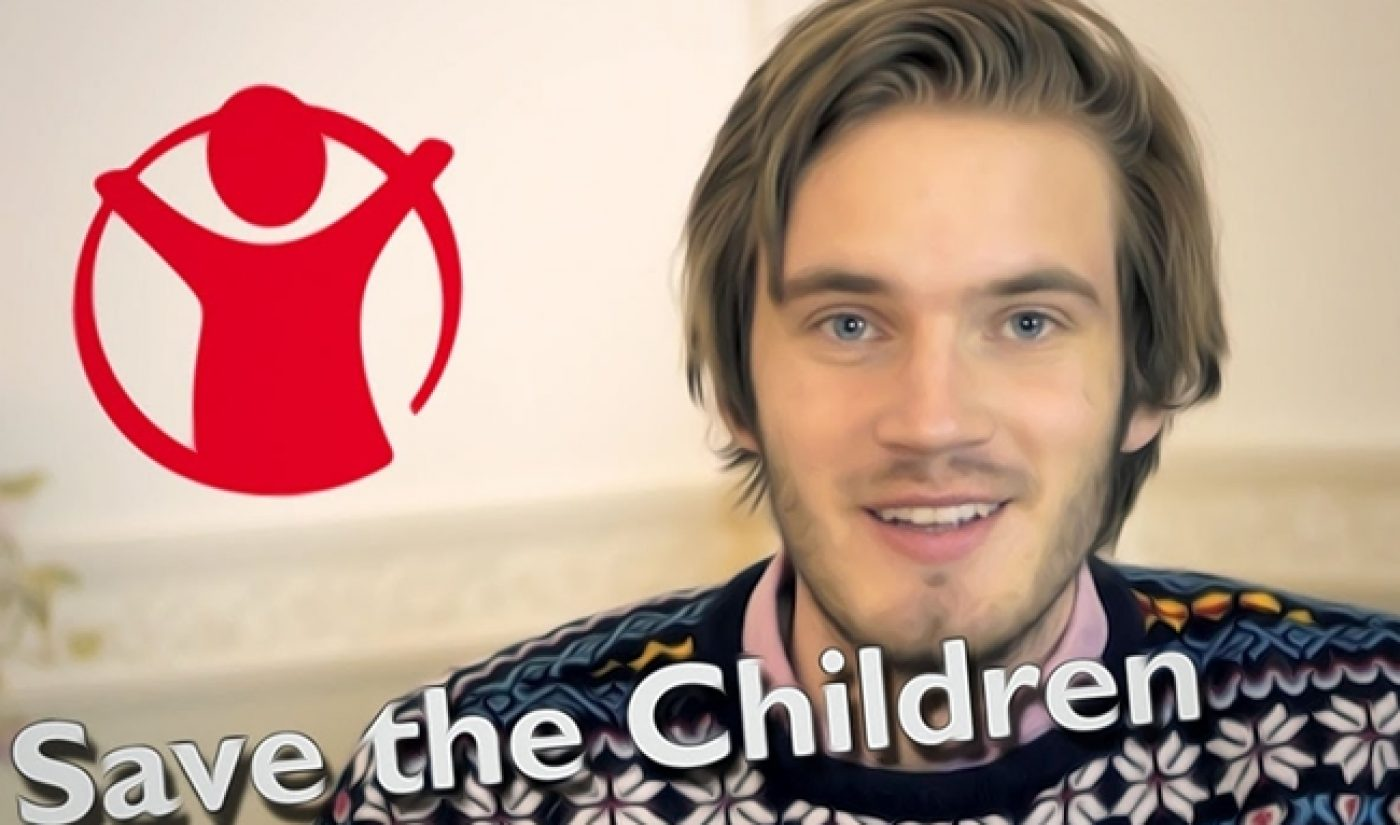 PewDiePie Raises $342,828 On Indiegogo For Save The Children