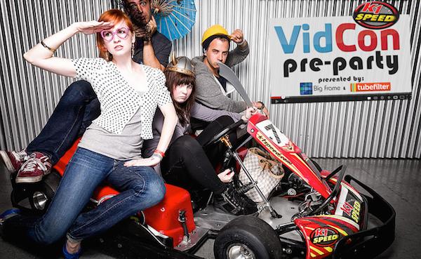 Tubefilter VidCon Preparty Sqauresville News