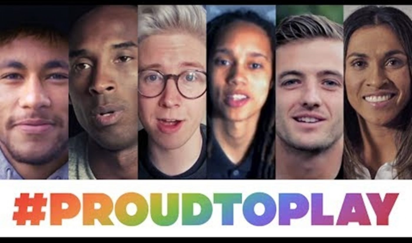 YouTube Salutes LGBT Athletes With #ProudToPlay Campaign