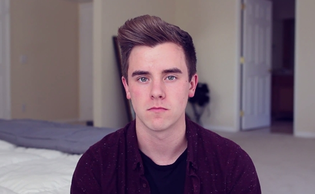 "Connor Franta Comes Out, Won't Let ""Sexuality Define Or ... Ricky Dillon 2014 Photoshoot"