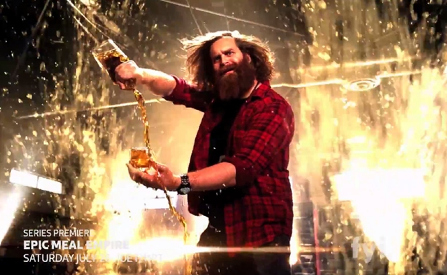 'Epic Meal Time' Teases Its New TV Show Ahead Of July 26th Launch