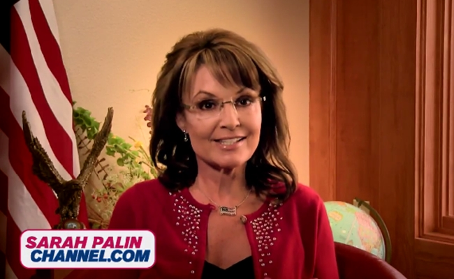 Sarah Palin Comes Online With Subscription-Based Web Channel