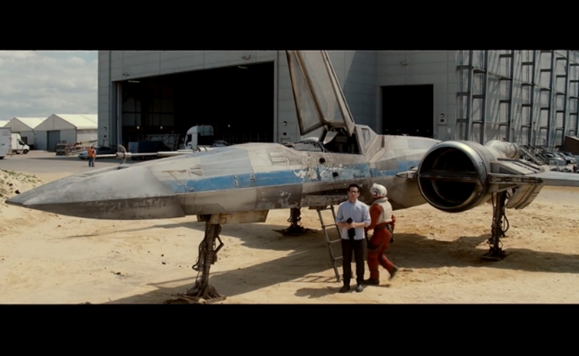 J.J. Abrams Unveils New 'Star Wars' X-Wing For Omaze Campaign