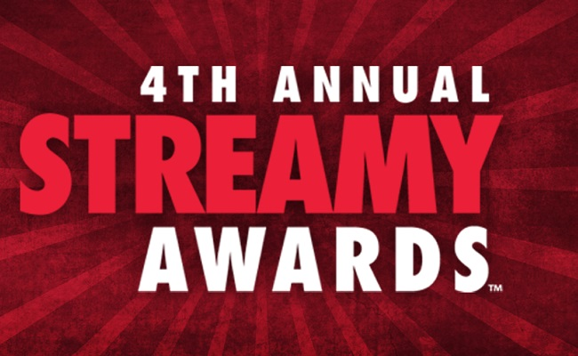 Nominees Announced for the 4th Annual Streamy Awards, Tune In September 7