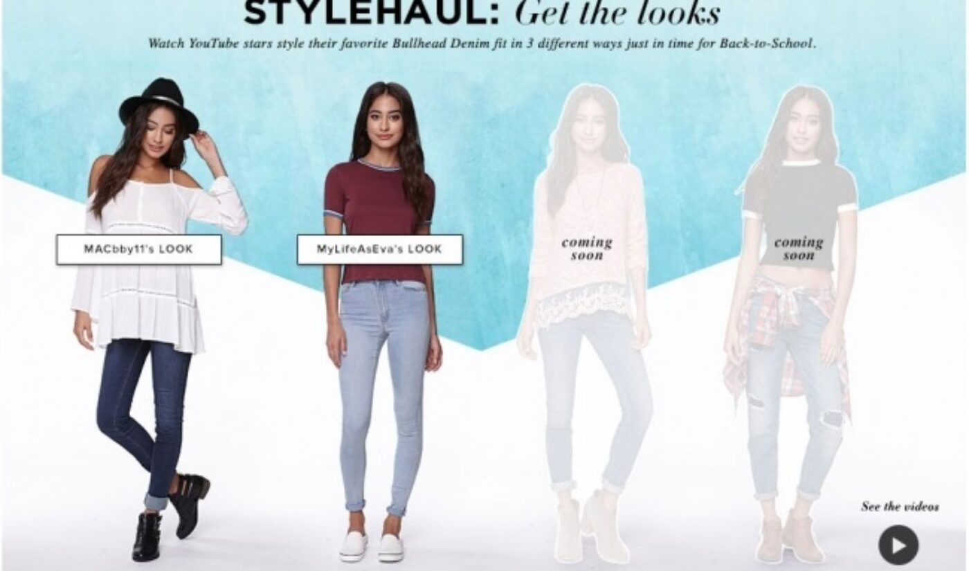 PacSun, StyleHaul Feature Fashion, Beauty YouTubers In Back-to-School Campaign