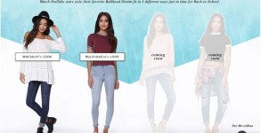 PacSun, StyleHaul Feature Fashion, Beauty YouTubers in Back-to-School Campaign by Bree Brouwer of Tubefilter
