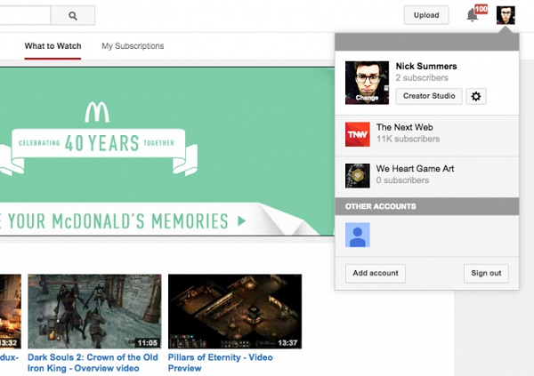 YouTube Gets a Minor Facelift Not All Users See by Bree Brouwer of Tubefilter