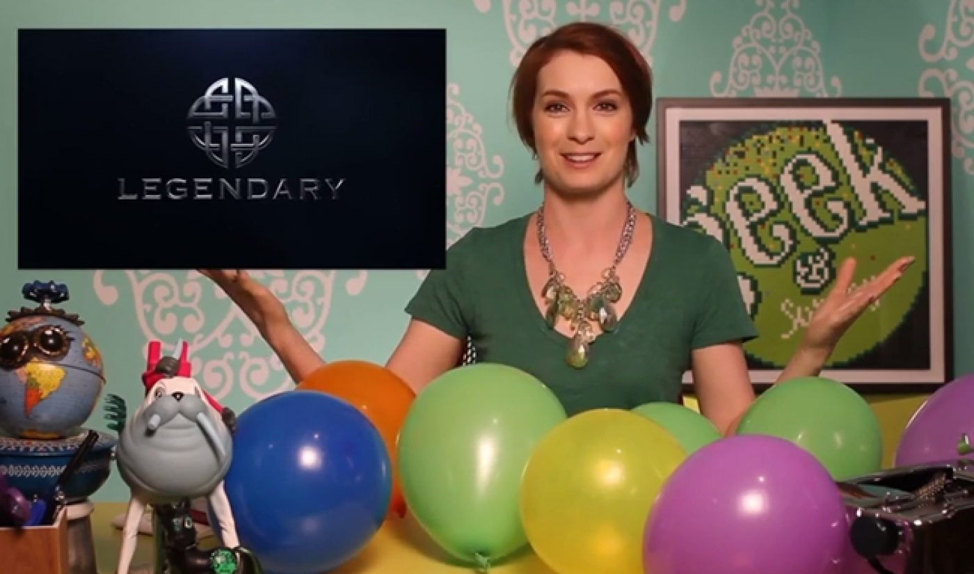 Legendary Acquires Felicia Day's Geek & Sundry Network