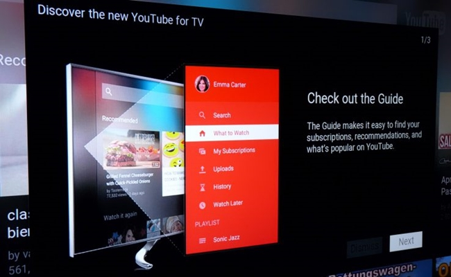 Youtube Gives Its Tv App A Makeover