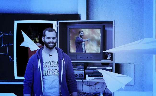 Harley Morenstein Reflects On His Teaching Days In GQ's 'My First Job' by Bree Brouwer of Tubefilter