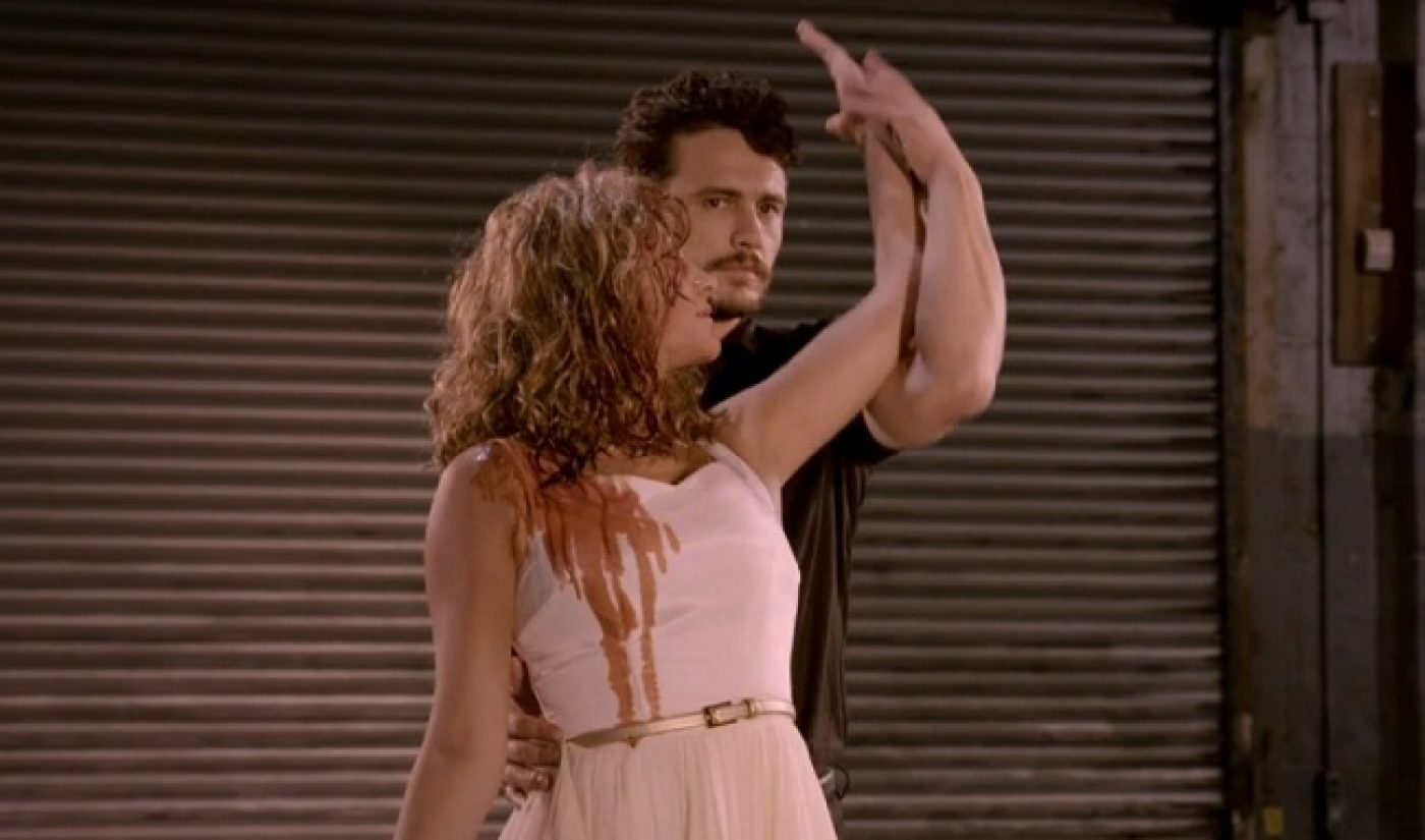James Franco Is 'Making a Scene' With His Series About Film Mashups